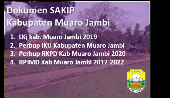 Dokumen SAKIP Kabupaten Muaro Jambi