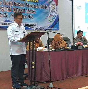 Pendampingan Sistem Akuntabilitas Kinerja Instansi Pemerintah (SAKIP) Kab. Muaro Jambi Tahun 2019