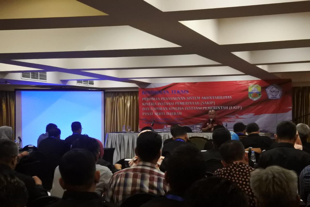 BIMTEK SAKIP bersama dengan Lembaga Pengembangan Manajemen Pemerintahan (LPMP)
